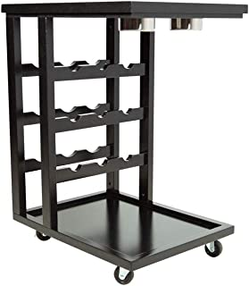 BBO Poker Tables Beverage Cart (Black)