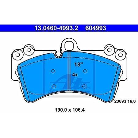 Ate 13 0460 4990 2 4x Bremsbeläge Vorne Auto