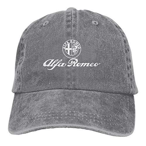 Hengteng Designed Printing Comfortable Hats Alfa Romeo Logo Cool Baseball-Cap Gray