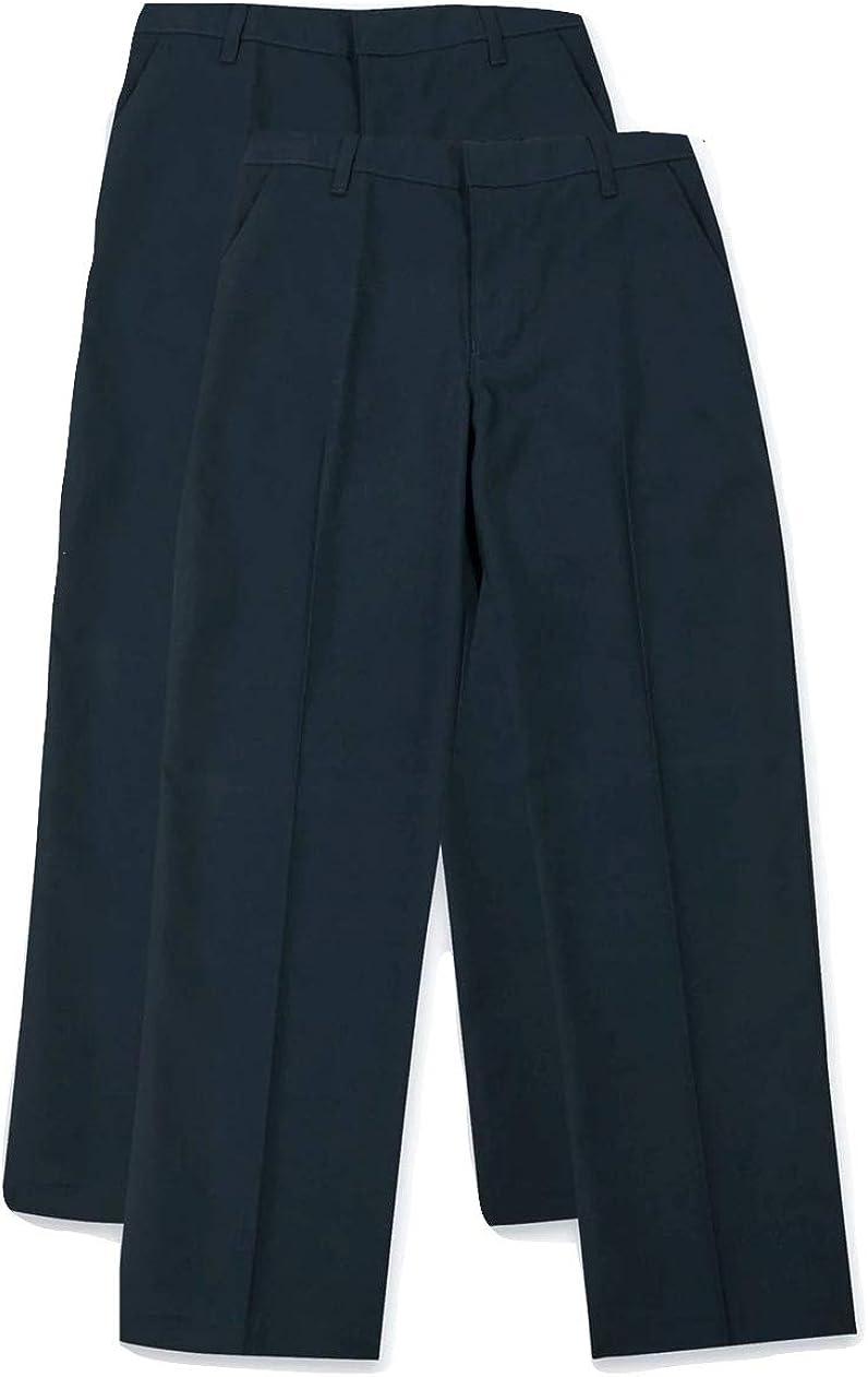 3 couleurs Smart Classic Lot de 2 pantalons d/école pour gar/çon