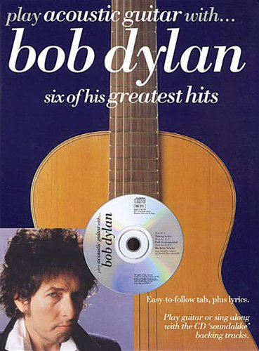 Partition : Play Acoustic Guitar With Bob Dylan + CD