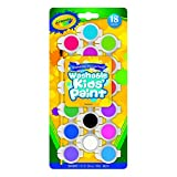 Crayola Washable Kid's Paint Assorted Colors 18 Each (Pack of 3)