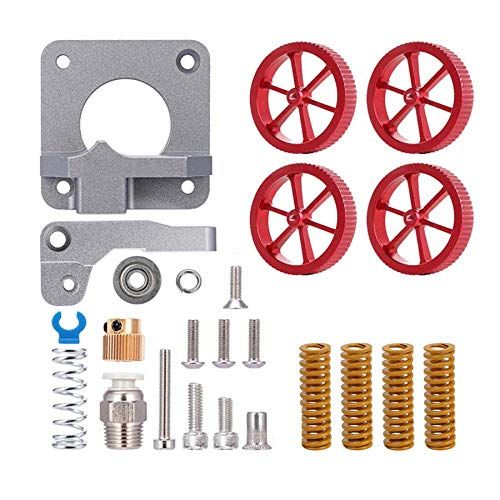 WOVELOT Manual Screwing Nuts and Hot Bed Stampingall Metal MK-8 Extruder Feeder Drive for Ender 3/3, Ender 5/5 Plus/,