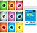 A Pokemon 45 Basis - Colección de cartas energéticas (5 unidades por tipo Energy Cards + 50 fundas Arkero-G®...