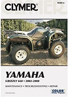 Clymer Repair Manual for Yamaha ATV Grizzly 660 02-07