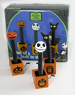 Neca Nightmare Before Christmas Jack in the Box Set non functional