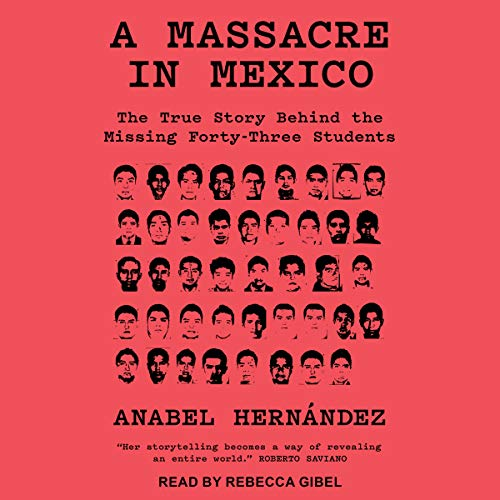 A Massacre in Mexico audiobook cover art