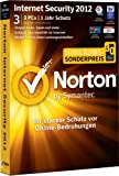 Norton Internet Security 2012 - 3 PCs - (inkl. Update 2013) -