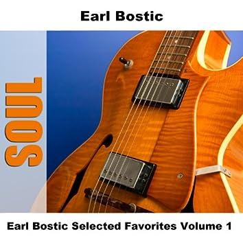 Earl Bostic Selected Favorites, Vol. 1