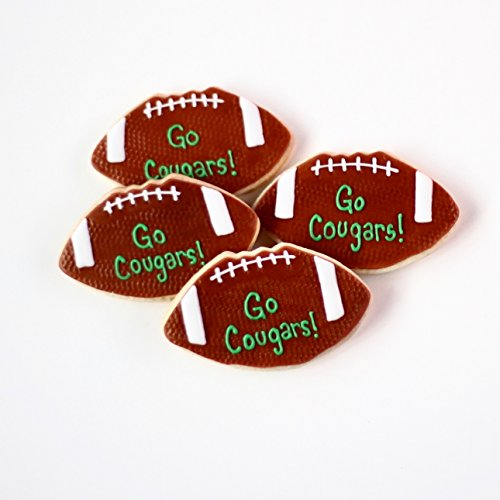 ½ Dz. Football Cookies! Birthday Sports Themed Party Favors or Gift!