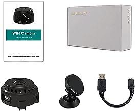 Homyl Mini câmera WiFi, filmadora de detecção de segurança, gravador de vídeo HD 1080P vigilância sem fio para casa de esc...