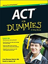 ACT For Dummies by Lisa Zimmer Hatch (2015-03-30)