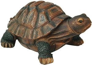 Lazy Puppy Garden sculture e statue resina tartaruga ornamenti stagno decorazione