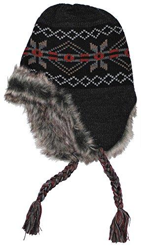 Fox Outdoor Perú Puno gorro Negro / Gris