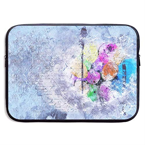 JKOVE Laptoptasche Notebooktasche,Laptop Sleeve Case Protective Bag Printed Art Abstract Watercolor Ultrabook Briefcase Sleeve Bags Cover Aktentasche for MacBook Pro/Acer/Asus/Lenovo Dell
