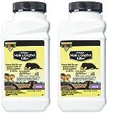 MOLETOX II 1 B07GQ915K4 Bonide Chemical Mole and Gopher Killer, 8-Ounce 2 Pack, Multi