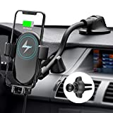 Mpow Car Phone Mount Wireless Charger, Wireless Car Charger 10W/7.5W, Auto-Clamping Car Wireless Charger Air...