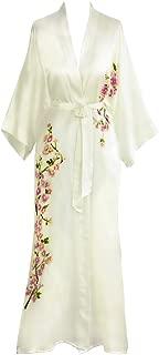 Kim+ONO Women's Silk Kimono Long Robe - Handpainted