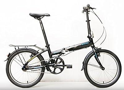 Oyama Skyline 1 Single Speed Folding Bicycle (Black)