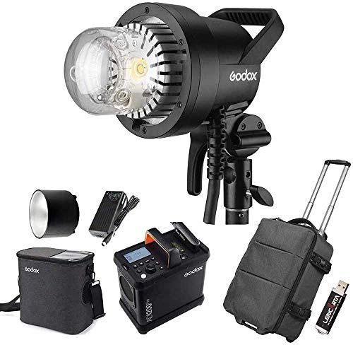 Godox AD1200Pro AD1200 Pro Batterie-Blitz-System Powered, 1200Ws 2.4G TTL-Blitzsteuerung Strobe 1/8000 HSS, 0.01-2S Bereiten Sie Zeit, 500 Full Power Blitz, 40W Modell-Licht, 5600K ± 200K