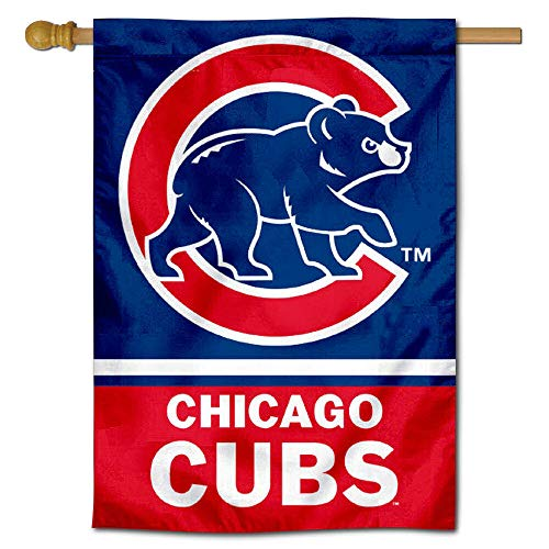 WinCraft Chicago Baseball Two Sided House Flag