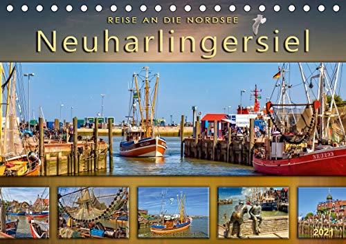 Reise an die Nordsee - Neuharlingersiel (Tischkalender 2021 DIN A5 quer)