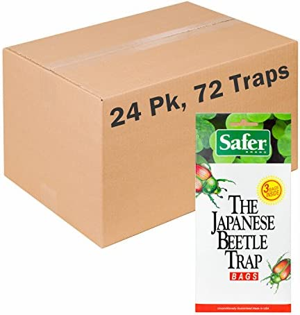 Safer Brand Japanese Beetle Replacement Bag 3 per Pack 24 Packs 72 Total Bags 00102 product image