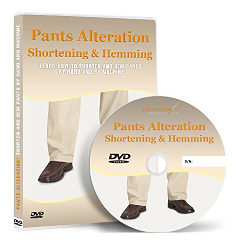 Pants Alteration: Shortening and Hemming By Hand and...
