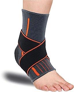 足首ブレースアーチサポート足底筋膜炎圧縮靴 傷害の回復 かかとアキレス腱のランニングアンクルプロテクターバスケットボール