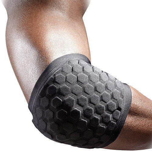 McDavid 6515R Hex Knee/Elbow Pads - XL - Black