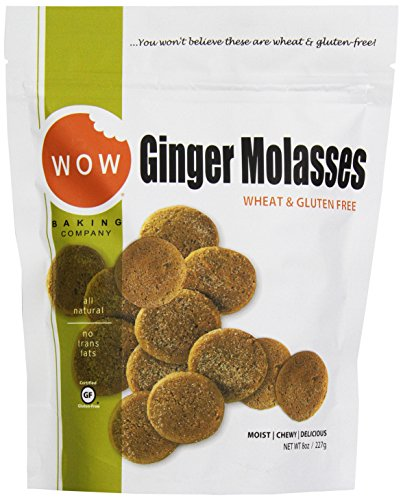 Wow Baking Gluten Free Ginger Molasses, 8 oz