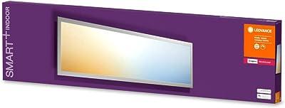 LEDVANCE Smart+ Panel   Dalle LED Connectée   Montage en Surface   30x120cm   Blanc Chaud/Froid 2700/6500K   30W - 2800lm   Compatible avec Amazon Echo Plus, Echo Show et passerelle Philips HUE
