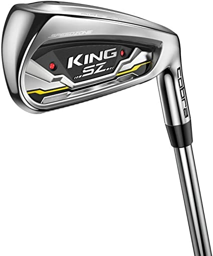 Amazon.com : Cobra Golf 2020 Speedzone Iron Set (Men's, Left Hand, KBS Tour 90, Reg Flex, 5-GW) : Sports & Outdoors