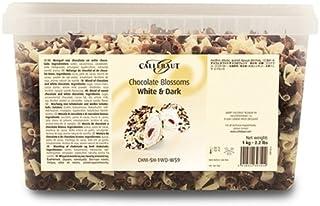Callebaut Rizos de Chocolate Blanco y Negro (virutas mezcladas) 1kg