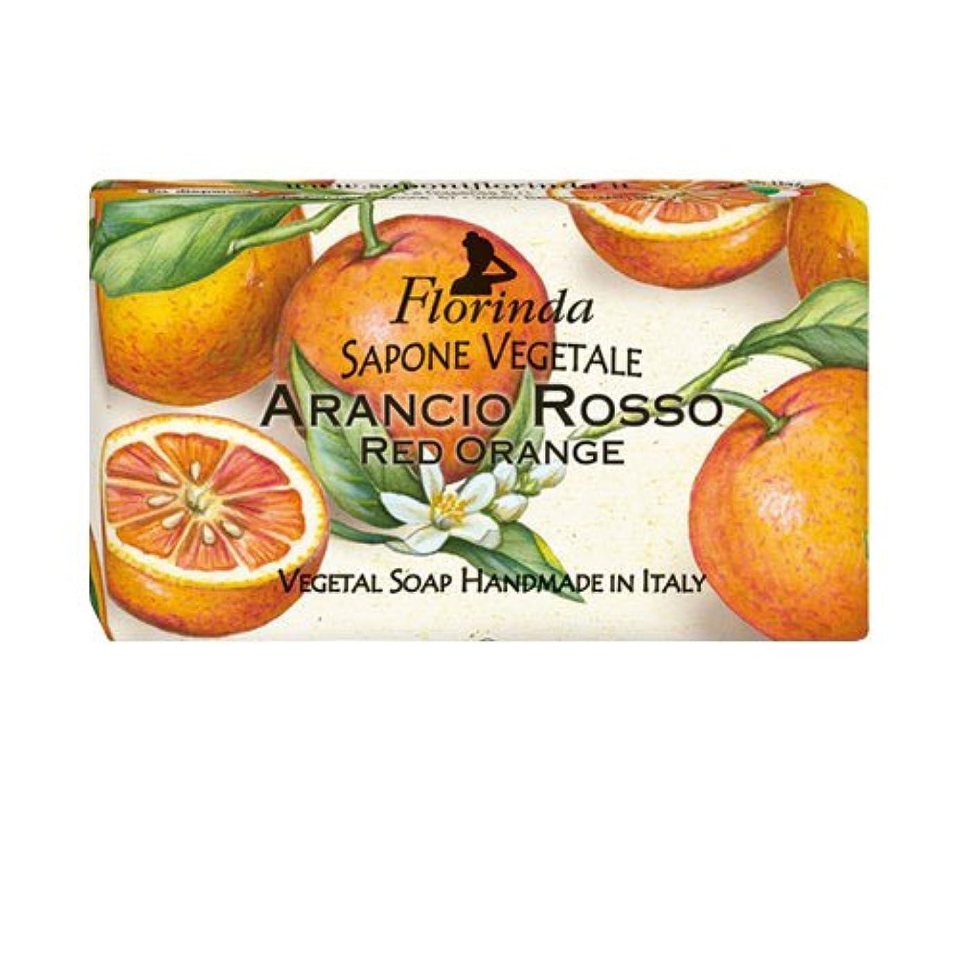 損傷原告水っぽいフロリンダ フレグランスソープ フルーツ レッドオレンジ 95g