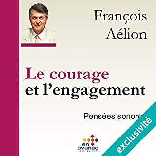 Couverture de Le courage et l'engagement