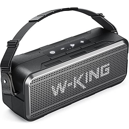 W-KING 60W Loud Bluetooth Speaker, IPX6 Waterproof Outdoor Bluetooth...