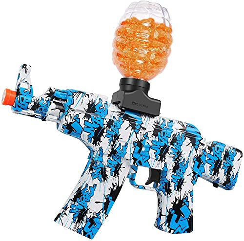 Anstoy Electric with Gel Ball Blaster AEG AKM-47 for Outdoor Activities-Fighting Shooting Team Game...