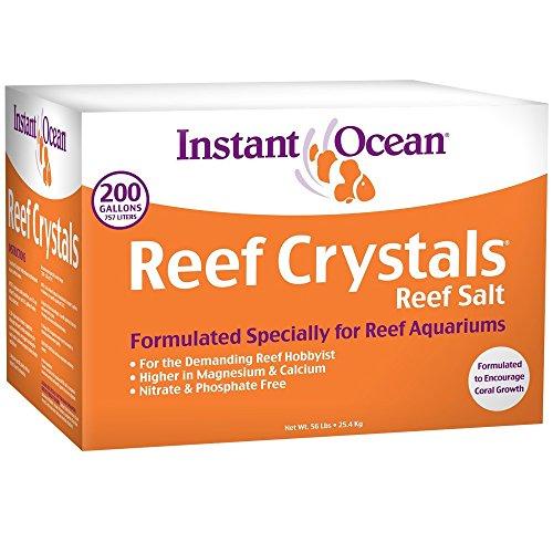 Visit the Instant Ocean Reef Crystals Reef Salt (200 gal) on Amazon.
