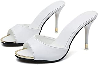 Paul Kevin Womens High Heeled Sandals Slippers Mules Shoes Womens Pumps