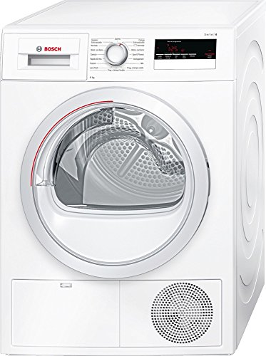 Bosch Serie 4 wth85208it Independent Front Loading 8 kg A + + White – Tumble Dryer (Freestanding, Front Loading, Condensation, A + +, White, B)
