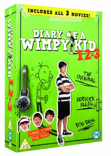 DIARY OF A WIMPY KID: 1, 2 & 3 BOXSET [UK Import]