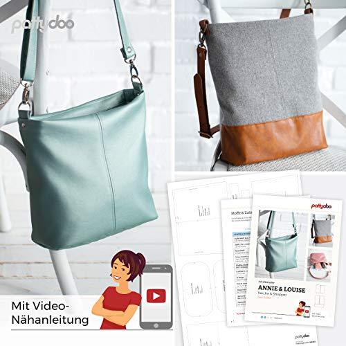 pattydoo Schnittmuster Tasche und Shopper 'Annie & Louise'