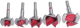 maitra Snabb borrning Röd 15 20 25 30 35mm Borr Bit Wood Auger Cutter Hex Skiftnyckel Träbearbetningshålsåg för elverktyg ...