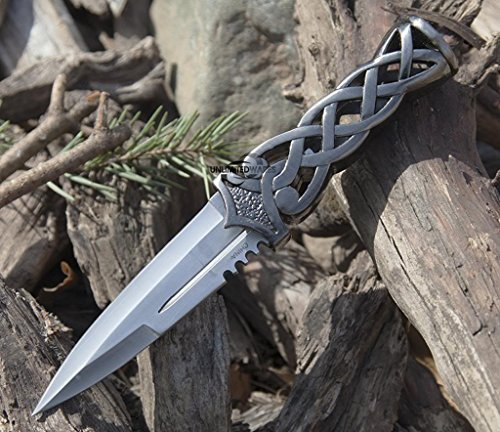Unlimited Wares Medieval Celtic Sgian Dubh Knife Dagger 9-Inch Overall