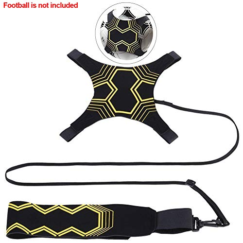 Fußball-Star-Kick, Soccer Star Kick, Solo-Fußballtrainer, Football Kick Trainer für Kinder Jugend Erwachsene Passend Größe 3, 4, 5