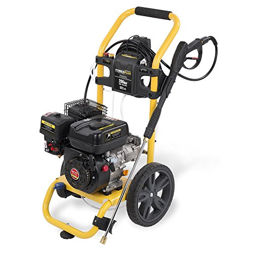 Powerplus 206 Bar 3060psi 180cc Petrol Driven Eco Drive Power Pressure Washer with All Terrain Wheels POWXG9008 - 3 Year Home User Warranty