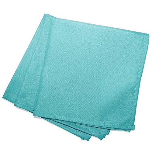 douceur d'intérieur 3 serviettes de table 40x40 cm essentiel menthe