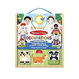 Melissa & doung- Occupations Dress-up Play Set figuras magnéticas vestir profesiones (XMD-19309)