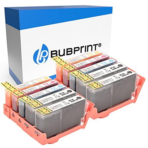 Bubprint 10 Cartuchos de Tinta Compatible para HP 364 XL 364XL para Deskjet 3070a Officejet 4622 Photosmart 5515 5525 7515 B109n C410b C410d C5324 C5380